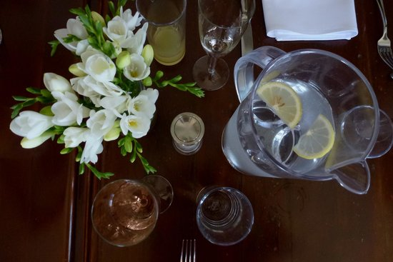The Boatshed Restaurant: table deco