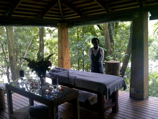 Summerfields Rose Retreat & Spa: Massage room