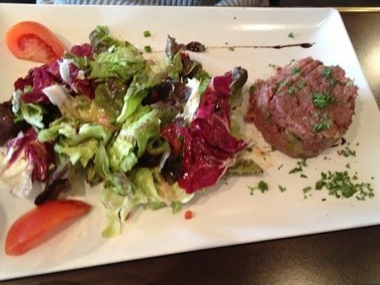 La table du boucher : Steak tartare
