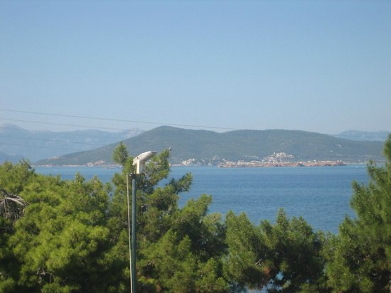 Hotel Danae: View from our balcony