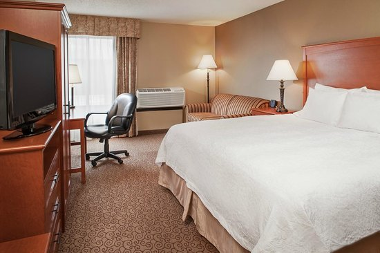 Hampton Inn Iowa City / Coralville: King with Sofabed