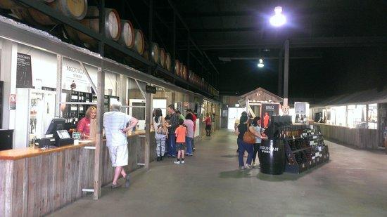 McGuigan Wines: Main hall - wine tasting area