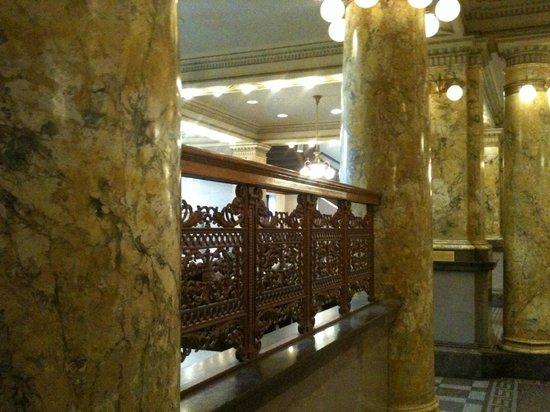 Colorado Springs Pioneers Museum: Pioneer Museum Columns and Ironwork