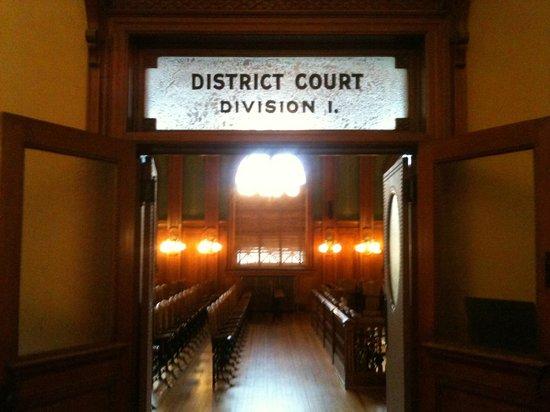 Colorado Springs Pioneers Museum: Pioneer Museum - District Court, Second Floor