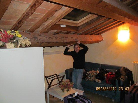 Il Pagliericcio: quartos espaçosos sem luxo, rustico