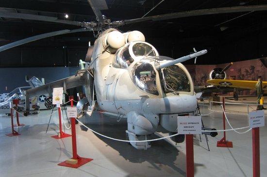 Southern Museum of Flight: Soviet Mil Mi-24 Hind @ SMF