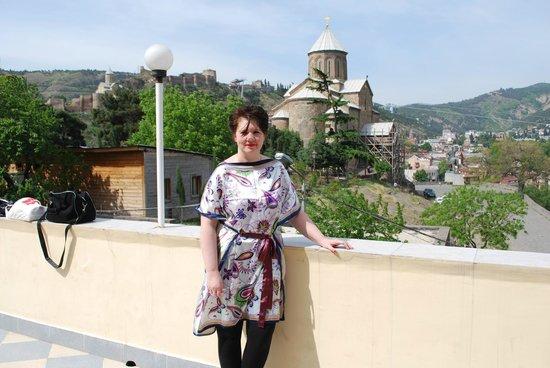 Hotel GTM Kapan: uitzicht op Methekichurch