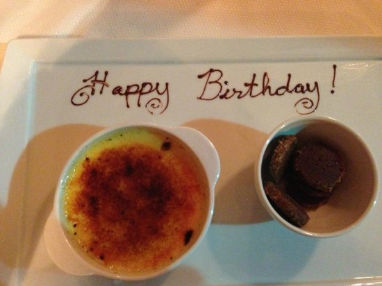 Ashley's At the Capital : Creme brulee for dessert