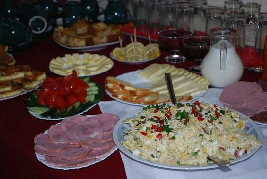 Hotel  Victoria: Een uitgebreid ontbijt