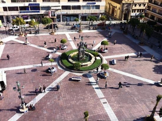 Plaza Alta: vista de pajaro