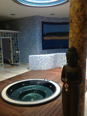 Hotel Mies de Rubayo: zona spa