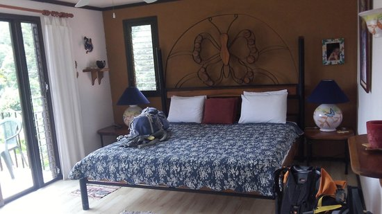 Lucky Bug B & B: Master suite