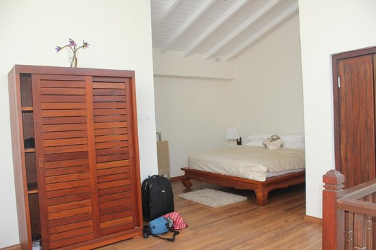 Thaproban Pavilion Resort and Spa : Upstairs Bedroom
