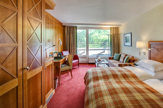 Arosa Kulm Hotel & Alpin Spa: Superior Double Room