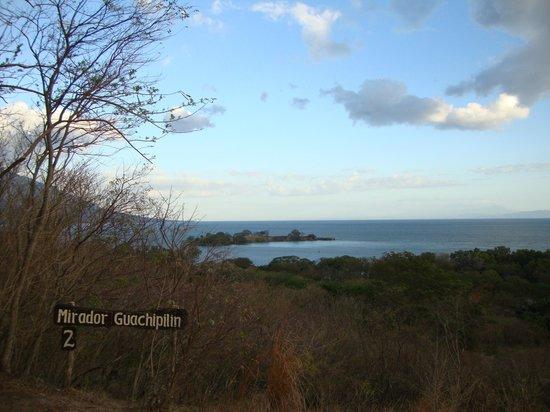 Laguna Charco Verde: Vista desde el mirador