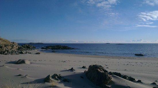 Farsund Tourist Information: The Beach Falkum outside Farsund