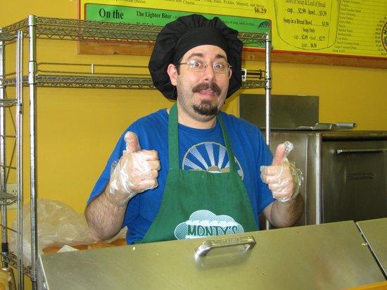 Monty's Subs: Chef TJ