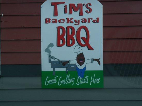 Tim's Back Yard BBQ: Tim's Backyard BBQ