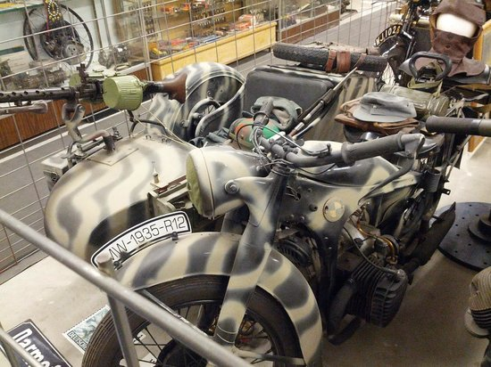 Miracle of America Museum (MoAM): BMW WWII Cycle
