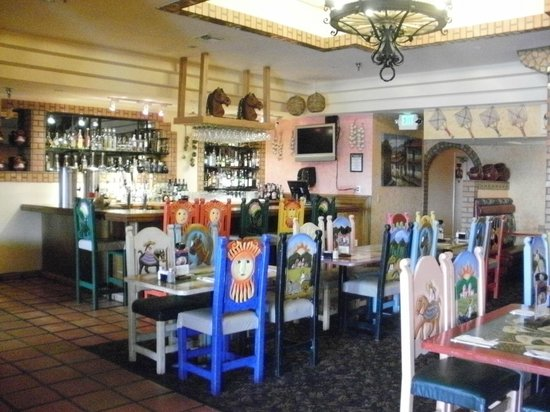 Plaza Bonita mexican restaurant: Plaza Bonita inside