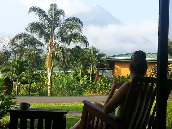 Pacific Trade Winds : Bungalow outside of Arenal Volcano