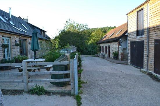 Smallicombe Farm: The farmyard