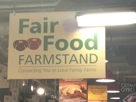 City Food Tours Philadelphia: Open food market in the Reading (Railroad) Terminal Market.