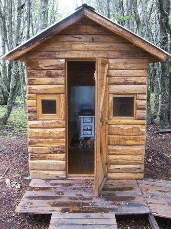 La Casa Escondida: Sauna
