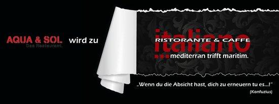 Italiano - Ristorante & Caffe: Gleiches Team - neuer Style!