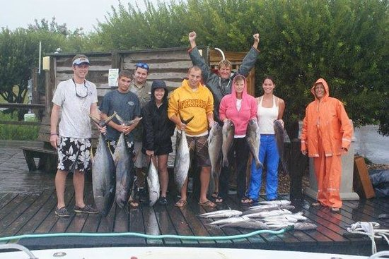 Crystal Dawn & Country Girl Fishing & Cruises : Rain or shine Captain Al still put us on the fish!