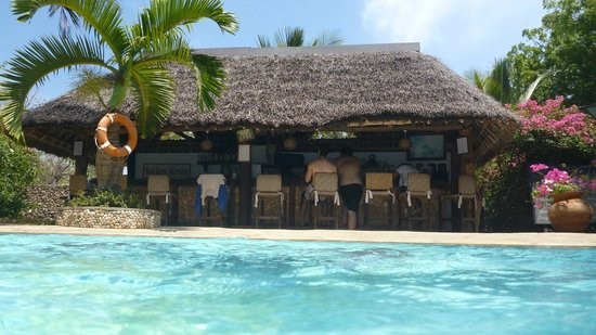 Diani Marine Divers Village: Pool area