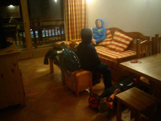Residence Club mmv Le Hameau des Airelles : Living area
