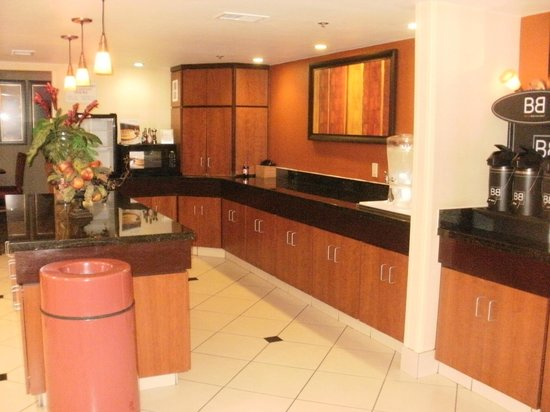 Fairfield Inn Scottsdale North: breakfast area