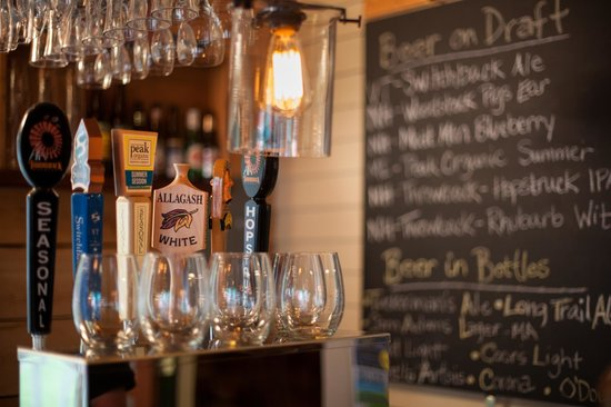 Squam Lake Inn: Local and Craft Beer on Draft