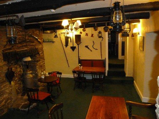 Exmoor Forest Inn: Side bar