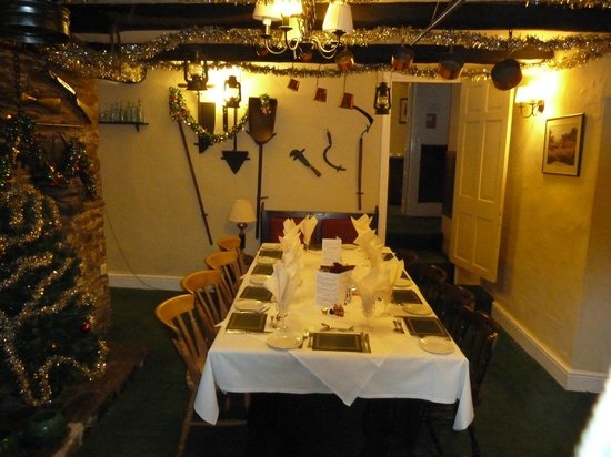 Exmoor Forest Inn: Reserved table
