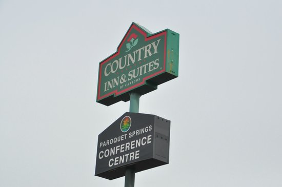 Country Inn & Suites By Carlson, Louisville South: Outside Signage