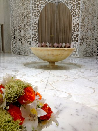 Royal Mansour Marrakech: Pristine Spa Reception