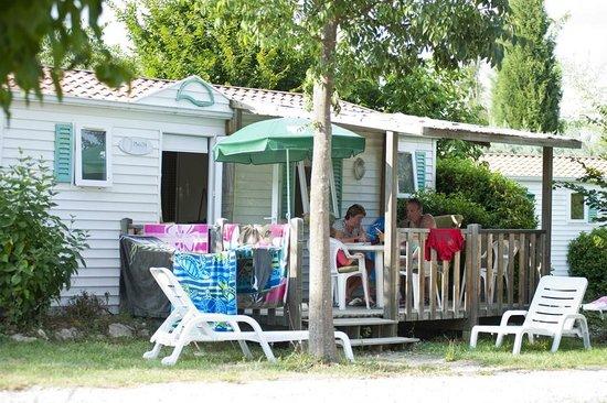 Camping Indigo Forcalquier : Mobile Home