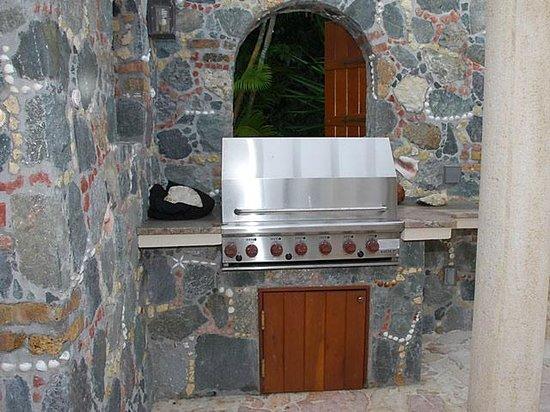 Coral Oasis Villa: Gas grill