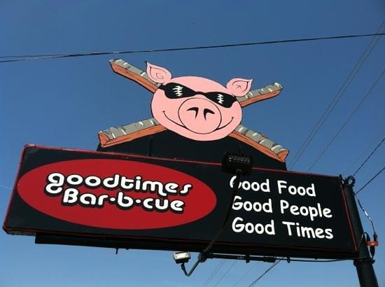 Goodtimes Bar-b-cue: Pilot Mtn. NC