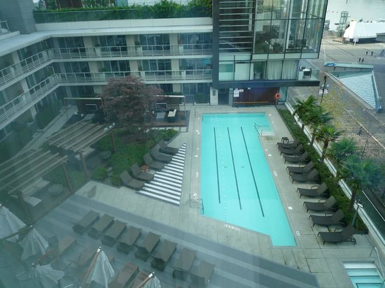 Fairmont Pacific Rim: View from the room