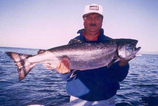 Gotcha Salmon Charters: Nice Chinook
