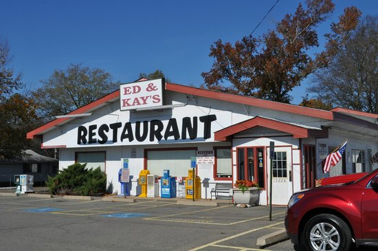 Ed & Kay's Restaurant: on I-30 outer road north