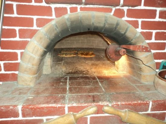 La Strada: our woodburning oven