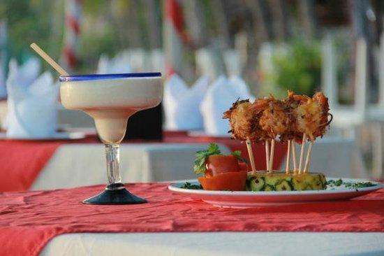 Hotel Roberto's Bistro: camarones coco