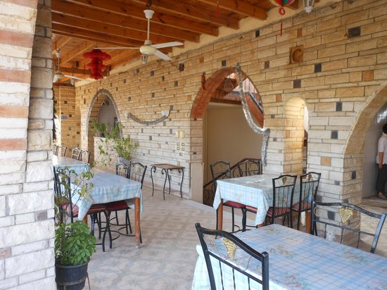 Ramsess Hotel: Terrazza della colazione