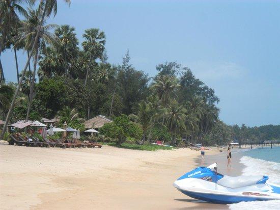 Samui Buri Beach Resort: plage