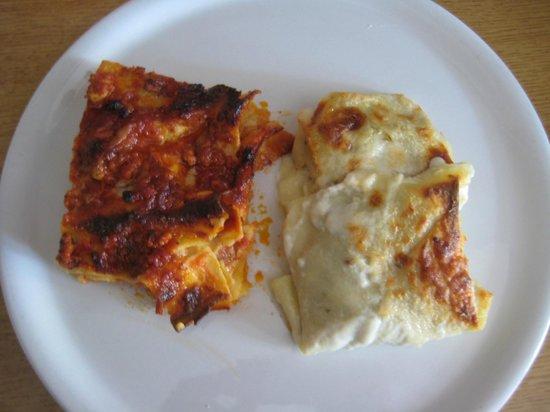 Osteria della Fornace : lasagne bianche e rosse