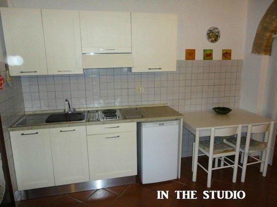 Bettini Aladina Affittacamere: studio -angolo cucina